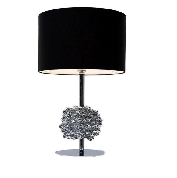 Настольная лампа Ilfari с черным абажуром Ilfari, T1 6454C black
