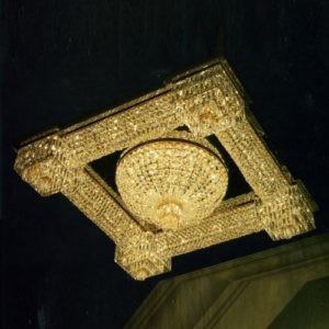 Светильник накладной потолочный Kalmar из хрусталя, DL16069