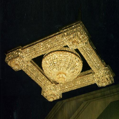 Светильник накладной потолочный Kalmar из хрусталя, артикул DL16069