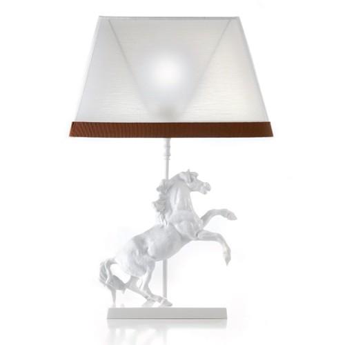 Настольная лампа со статуэткой лошади Il Paralume Marina, артикул L1636