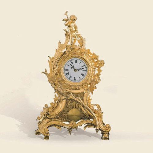 Часы настольные золотые Cordon, артикул 601