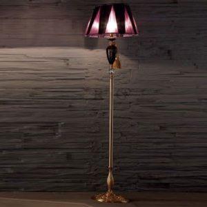 Торшер напольный с абажуром в стиле классика EUROLUCE LAMPADARIBarocco/PT1LA