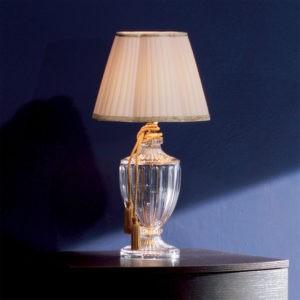 Настольная лампа стеклянная EUROLUCE LAMPADARI, артикул 244/LP1L