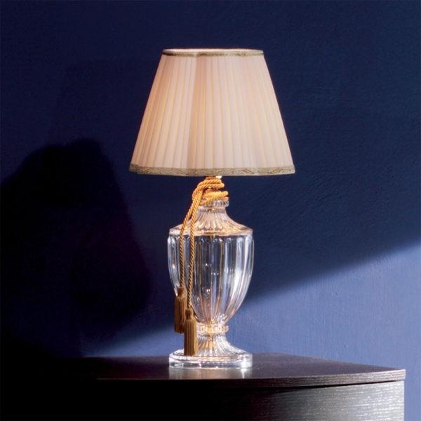 Настольная лампа со стеклянным основанием EUROLUCE LAMPADARI, артикул 244/LP1LA