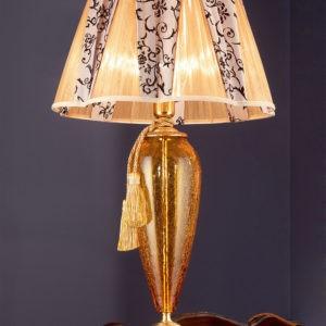 Настольная лампа в гостиную EUROLUCE LAMPADARI, артикул Barocco/LG1L A