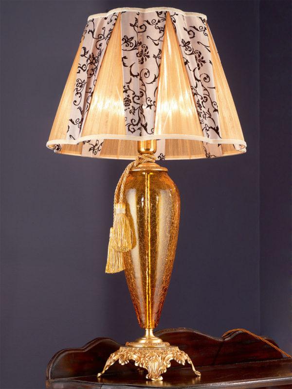 Настольная лампа в гостиную EUROLUCE LAMPADARI, Barocco/LG1L A