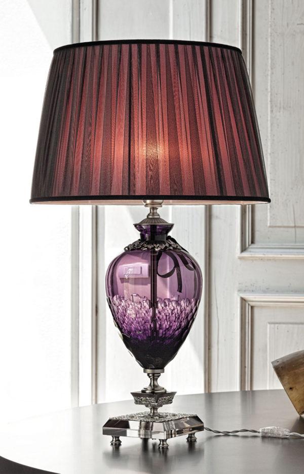 Лампа настольная в классическом стиле EUROLUCE LAMPADARI, артикул Coco/LG1L AM special