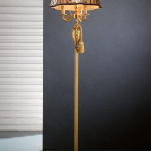 Торшер из золота с стеклянным декором EUROLUCE LAMPADARI, Lady/PT3+1L A