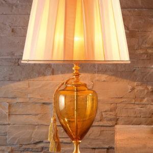Настольная лампа с абажуром в стиле Прованс EUROLUCE LAMPADARI, LuigiXV/LG1L A