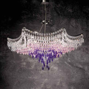 Люстра хрустальная с кристаллами Сваровски FAUSTIG, артикул 55060/65S