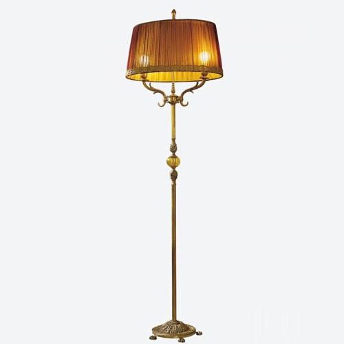 Торшер золотисто-бордового цвета Il Paralume Marina, артикул L845