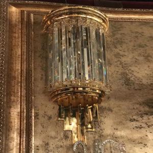Бра из золота с хрусталем Kalmar, артикул wl14908
