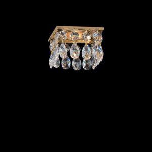 Встраиваемый потолочный светильник с хрусталем FAUSTIG, 010003.2/1GT