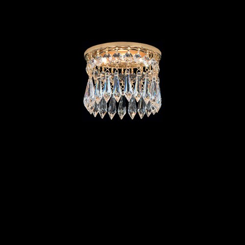 Точечный потолочный хрустальный светильник FAUSTIG, 01010.2/1NC