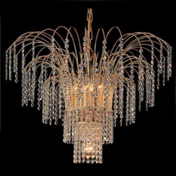 Люстра FAUSTIG для гостиной в виде весенней капели из кристаллов Swarovski Spectra, артикул 35201/60G