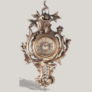 Часы настенные золотые Kandil купить в салоне Фламинго, артикул 77000600