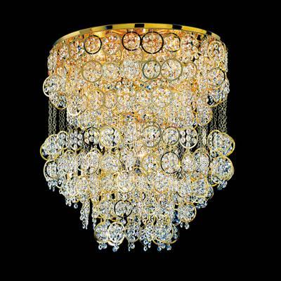 Потолочный светильник хрустальный FAUSTIG с кристаллами Swarovski Spectra, артикул 79000.7/60G