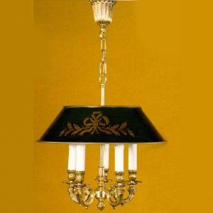 Люстра из металла с золотым напылением Martinez Y'Orts, артикул 8356/5PV