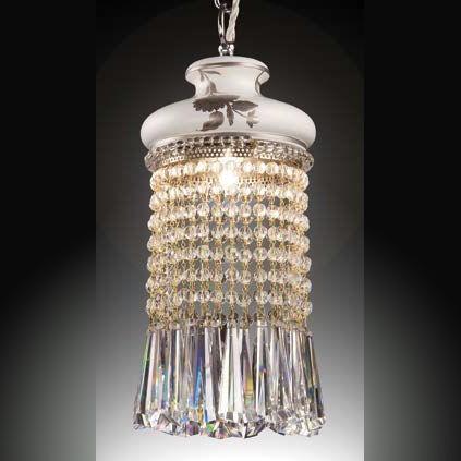 Хрустальный светильник ACF с керамикой, артикул f699 d3p