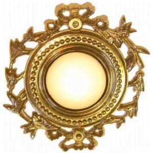 Светильник потолочный из латуни с эффектом старости, артикул FB10 OB
