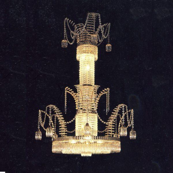 Классическая люстра с хрусталем Kalmar, артикул HL14184