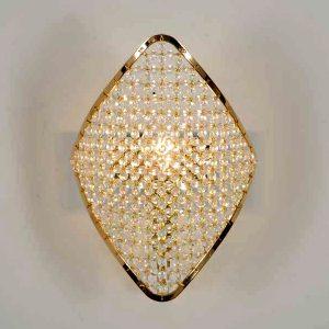 Настенное бра в современном стиле Patrizia Garganti со стеклянными бусами, артикул Holly H07C8