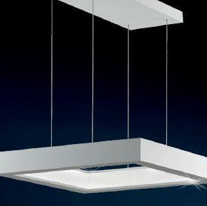 Дизайнерская люстра Swarovski с белыми и прозрачными хрустальными кристаллами, SRE171E-WH2S