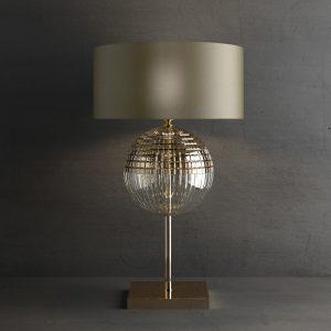 Настольная лампа ITALAMP 8160/LG BRIGITTA