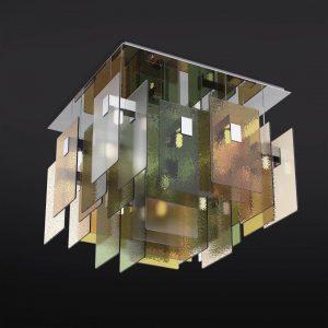 Потолочная современная люстра из стекла Italamp, артикул T1000/PL16