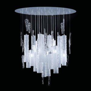Потолочный светильники со стеклянными плафонами, артикул Iceberg D60